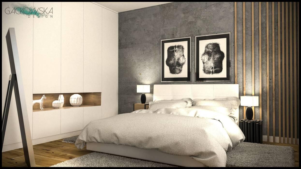 GACKOWSKA DESIGN Modern style bedroom