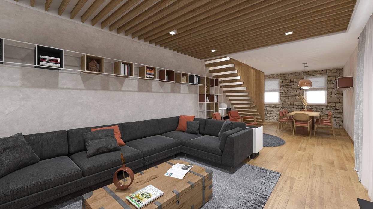Arredamento Rustico Casa arredo casa colonica soggiorno in stile rustico di