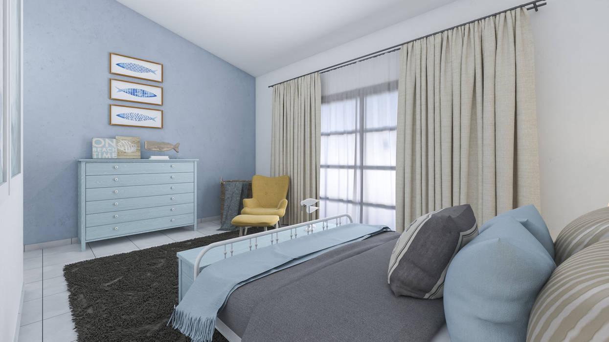 Arredo casa al mare in brasile: camera da letto in stile di ...