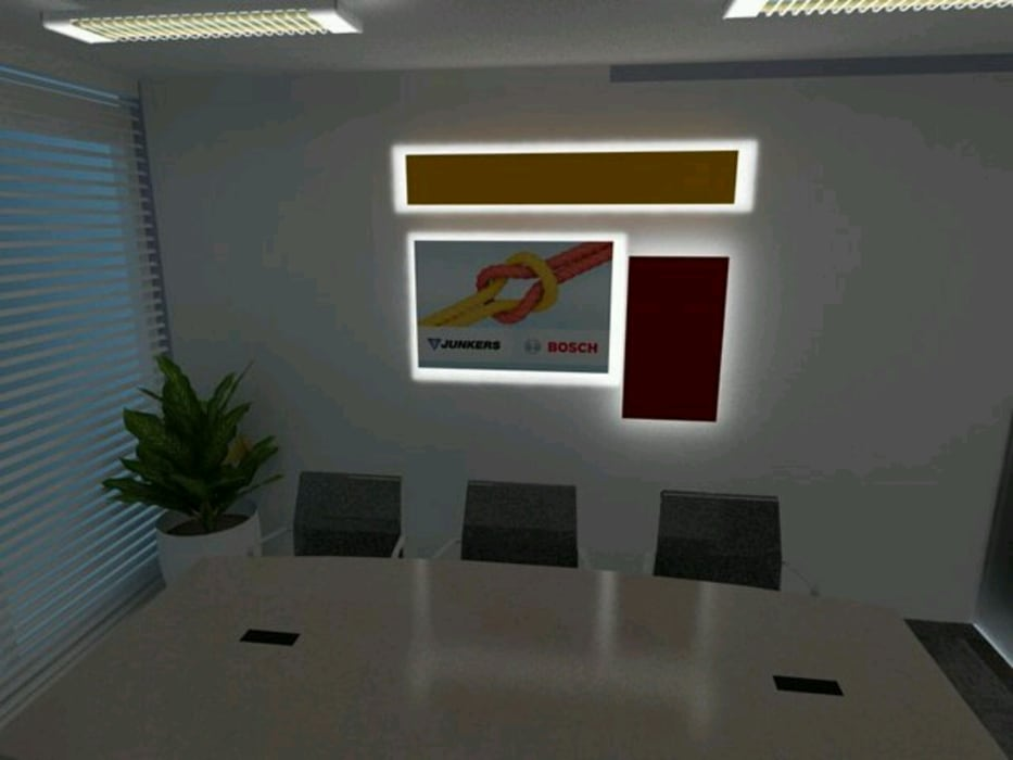 Offices & stores by AnnitaBunita.com, Modern Wood-Plastic Composite