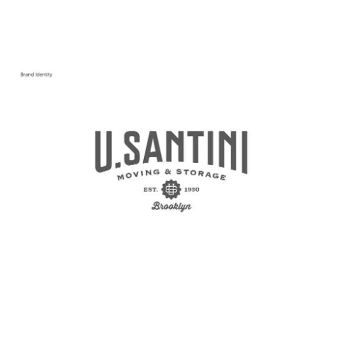 توسط U. Santini Moving & Storage Brooklyn, New York مینیمالیستیک