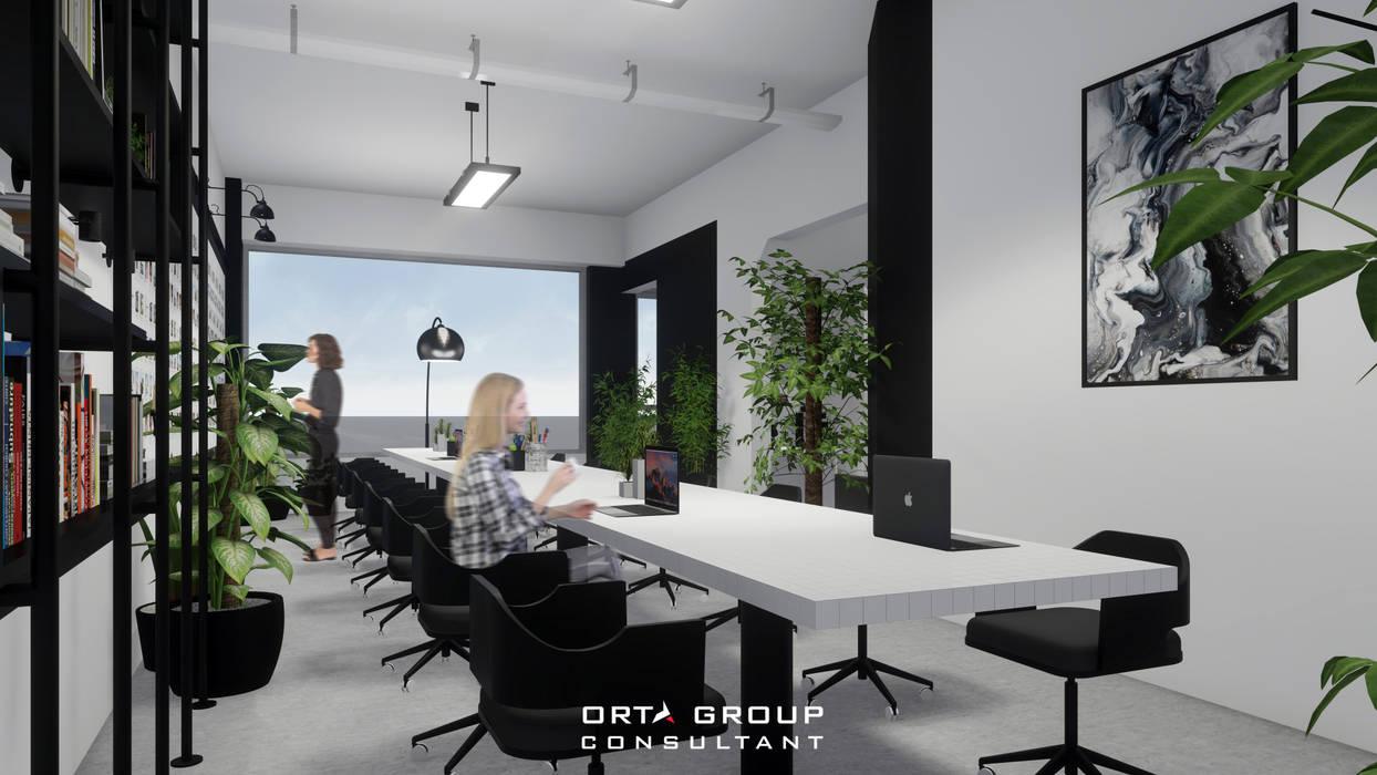 front view 1 Ruang Studi/Kantor Minimalis Oleh ORTA GROUP Minimalis