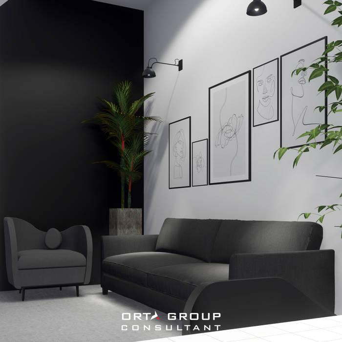lounge area: Ruang Kerja oleh ORTA GROUP,