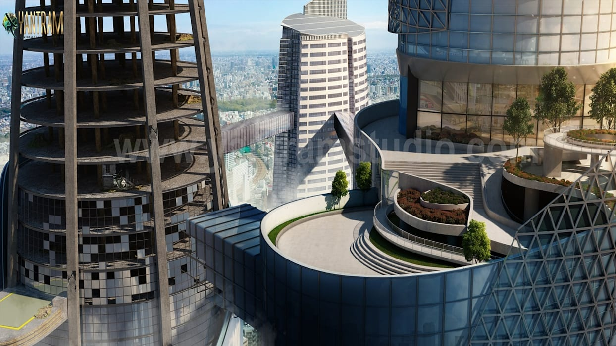 de Yantram Design Studio di architettura Clásico