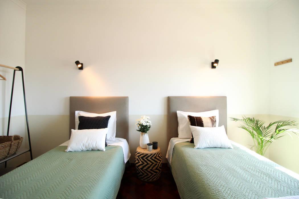 Quarto duplo da Casa Mintarica por Rima Design