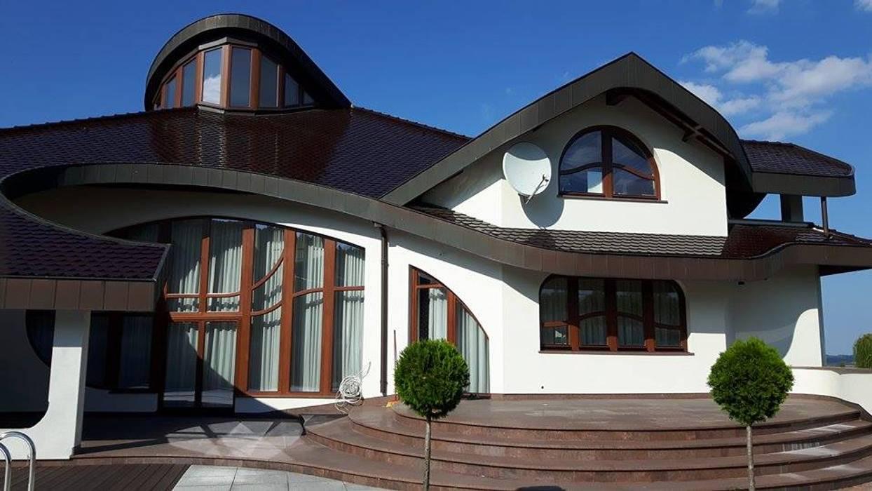 Rezydencja AMAYA Nowoczesne domy od Architekt Villanette Nowoczesny