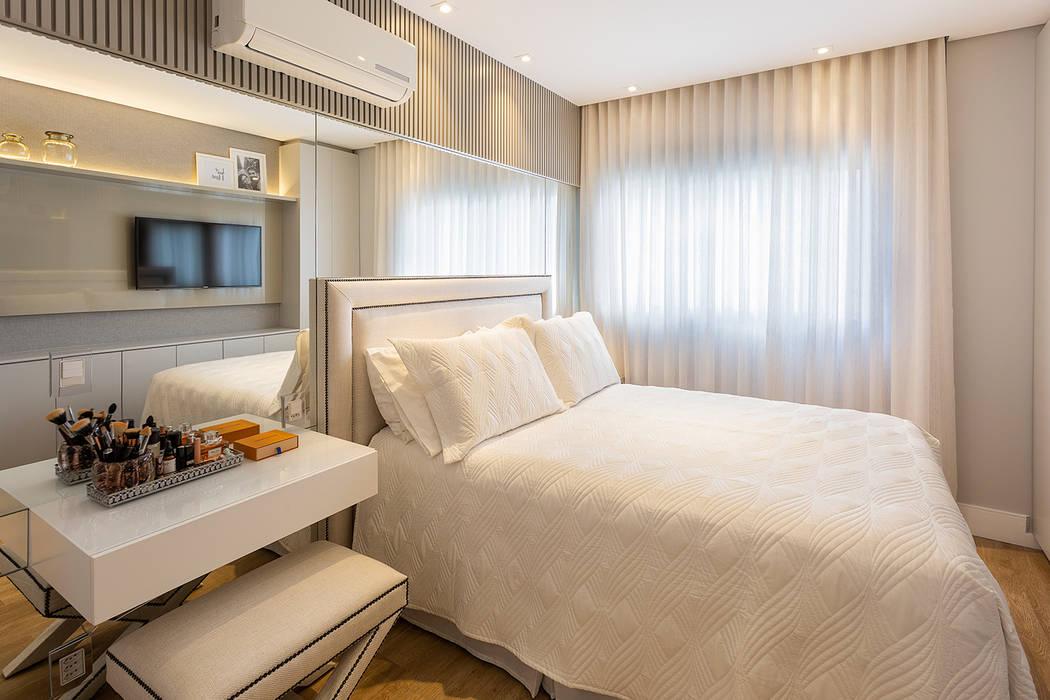 Modern Bedroom by Juliana Agner Arquitetura e Interiores Modern