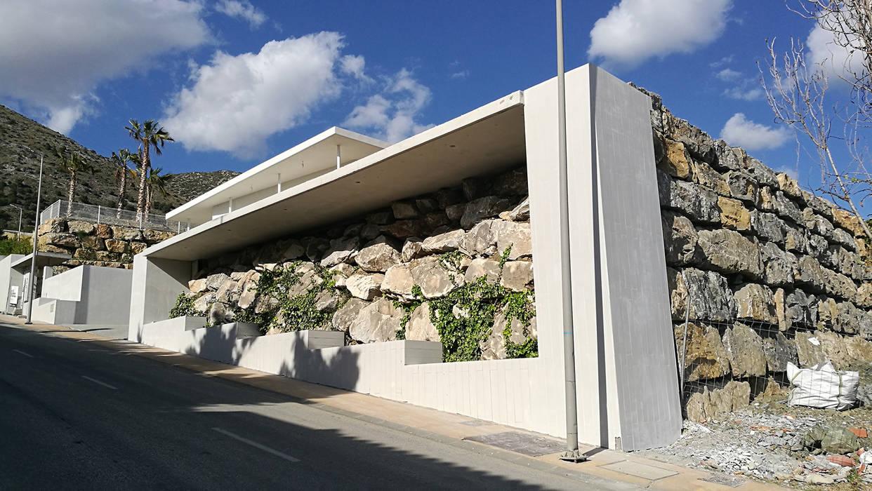 VILLA BAY 4 Casas de estilo mediterráneo de Taqnia arquitectos Mediterráneo