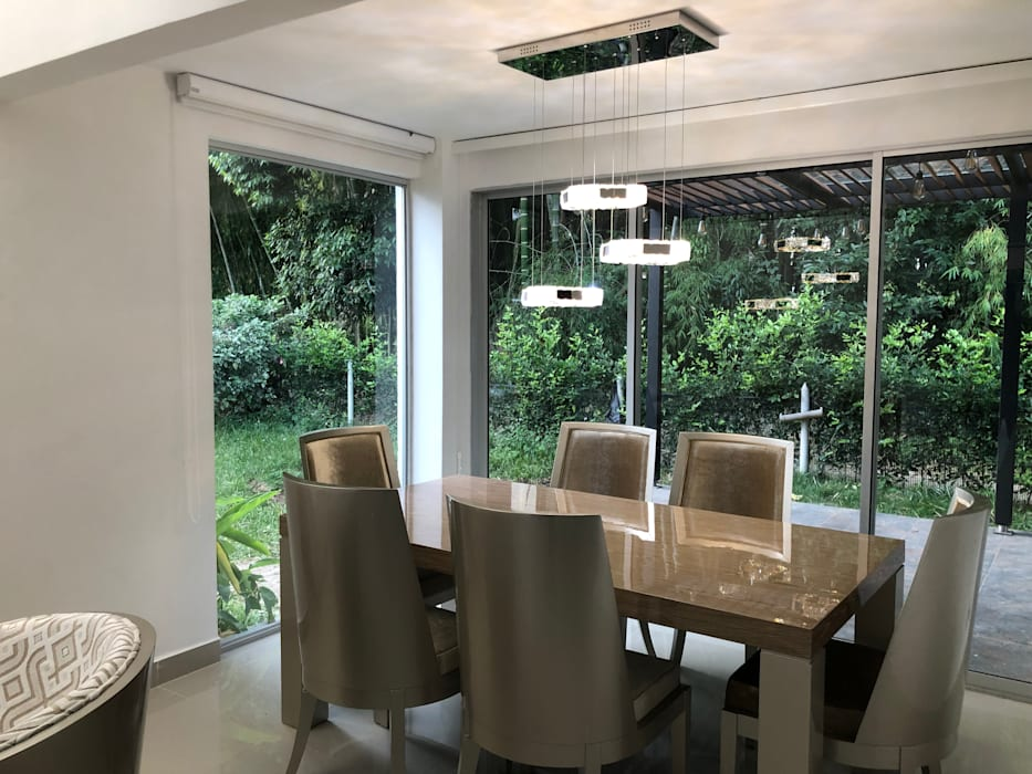 Modern dining room by SEQUOIA. Projects & Designs Modern