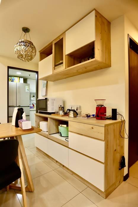 Phòng ăn theo 藏私系統傢俱, Tối giản