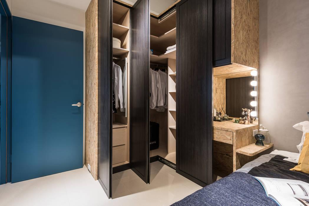 衣櫃 توسط 你你空間設計 صنعتی