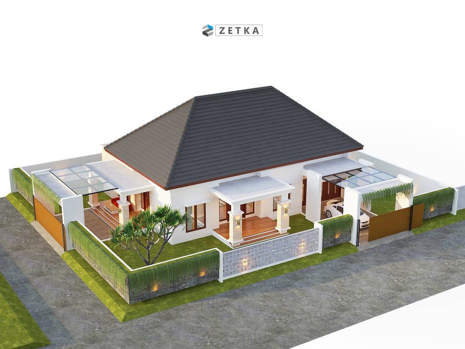 "GRIYA ANJAS "" PALANGKARAYA"": Rumah tinggal  oleh zetka arsitek,"