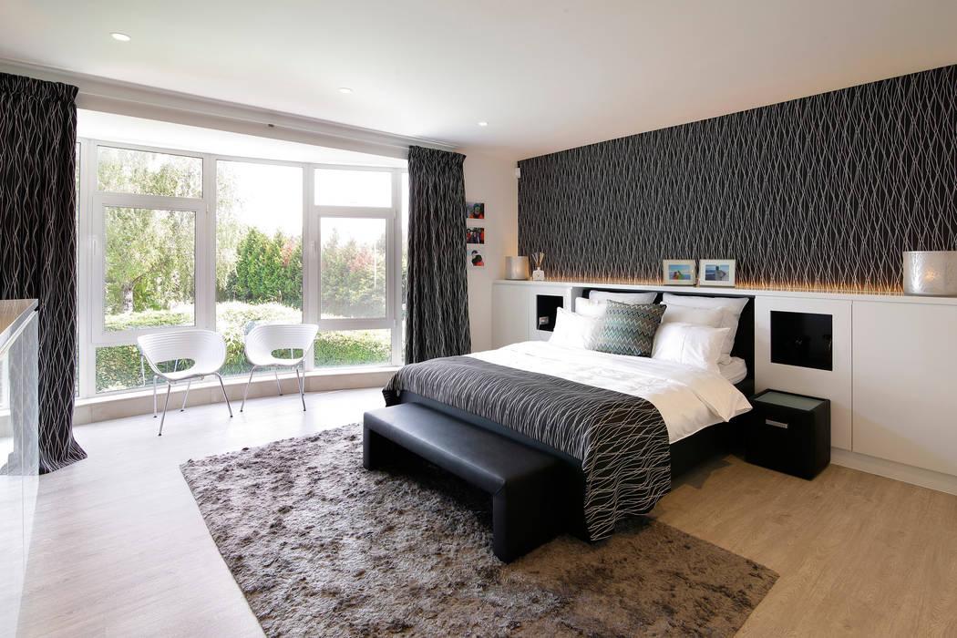 Slaapkamer modern Moderne slaapkamers van Marcotte Style Modern Marmer
