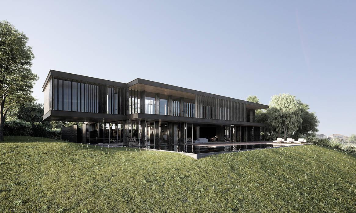 Minimalist house by T + T arquitectos Minimalist