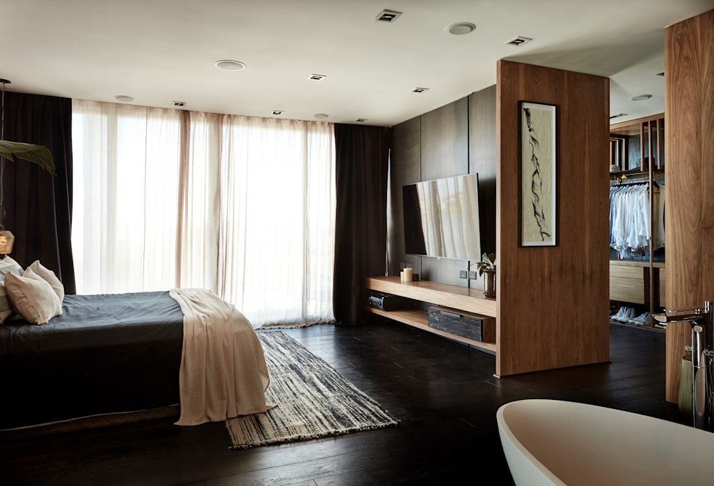 Casa El Canton Dormitorios minimalistas de T + T arquitectos Minimalista