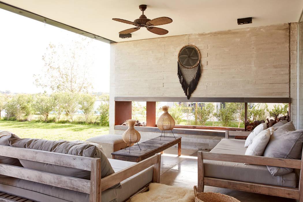 Jardines de estilo minimalista de T + T arquitectos Minimalista