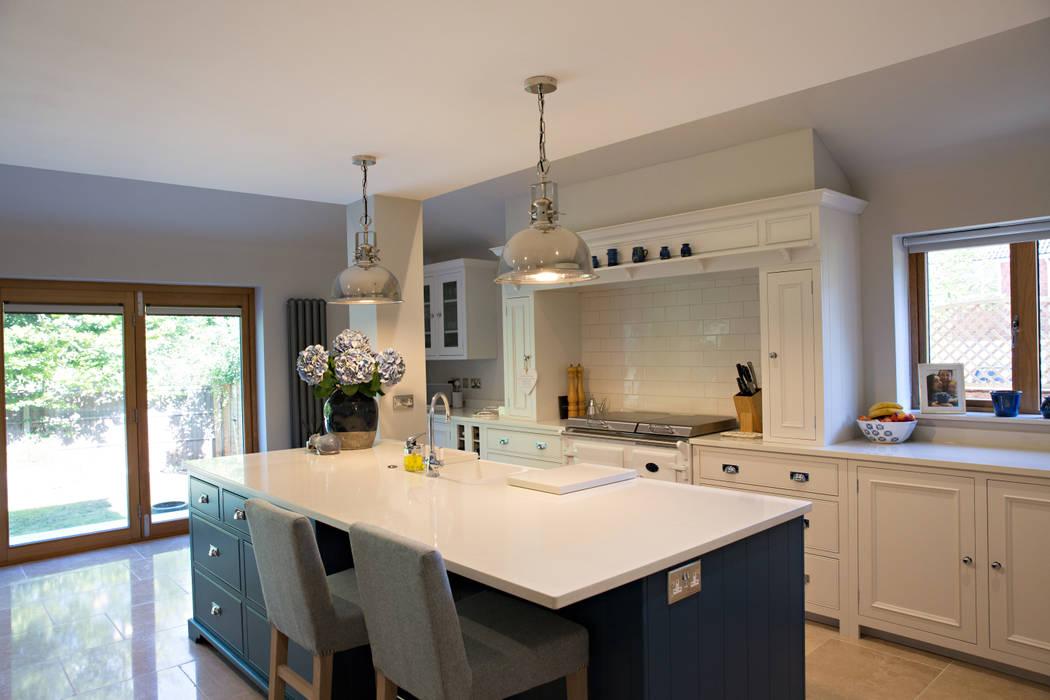 View Of Kitchen Island Breakfast Bar And Kitchen Modern Kitchen By Dwell Design Modern Homify