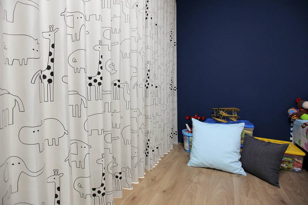 غرف نوم صغيرة تنفيذ MSBT 幔室布緹, ريفي الخشب البلاستيك المركب