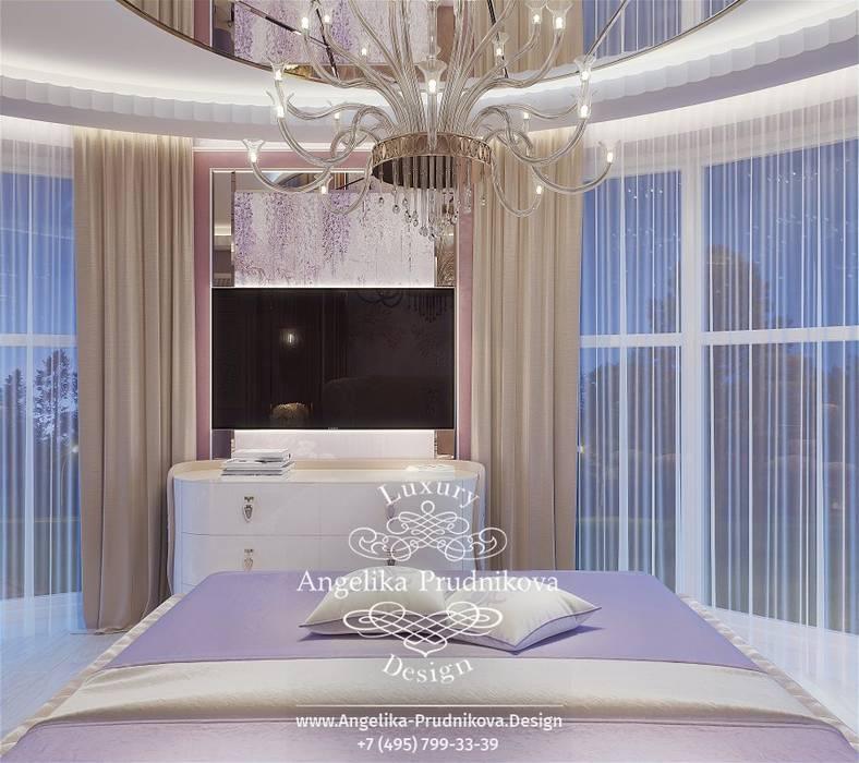 Дизайн-проект интерьера детской спальни в КП Ренессанс Парк Дизайн-студия элитных интерьеров Анжелики Прудниковой Спальня в классическом стиле