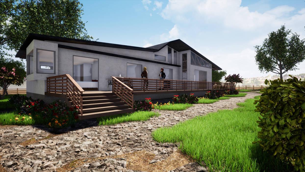 von CR.3D Modeling & Rendering Landhaus Ziegel