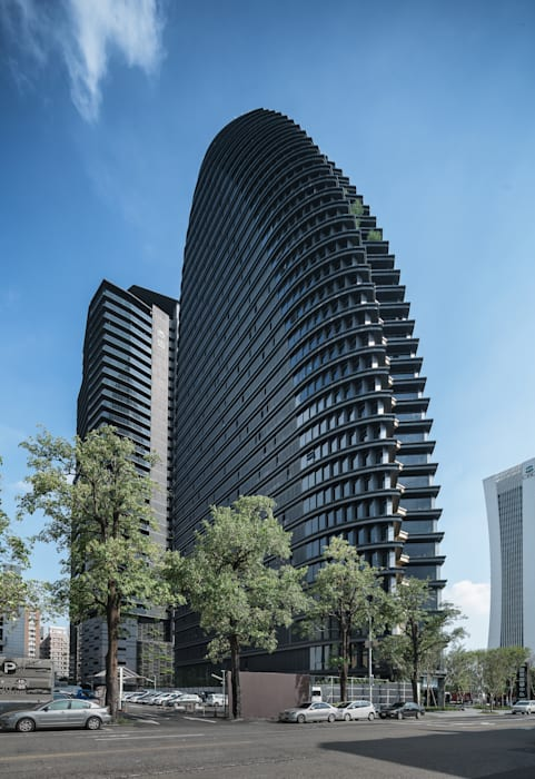 National Trade Center Classic style study/office by Architecture by Aedas Classic Metal