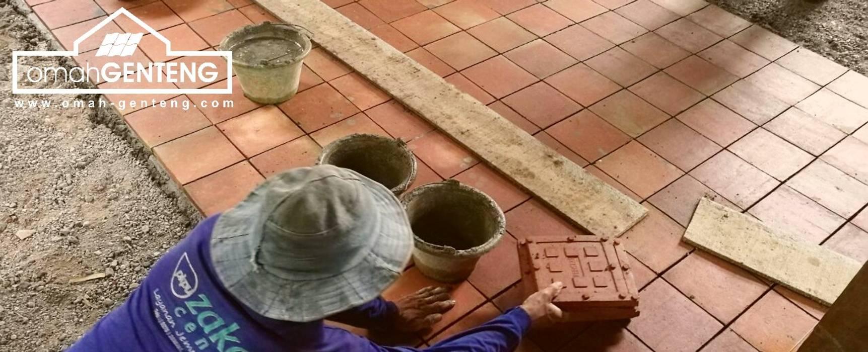 Ubin Terakota Bali - HP/WA: 08122833040 - Omah Genteng Oleh Omah Genteng Country Batu Bata