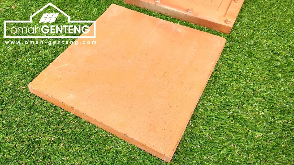Ubin Terakota 30x30 cm - HP/WA: 08122833040 - Omah Genteng Omah Genteng Lantai Batu Bata Red