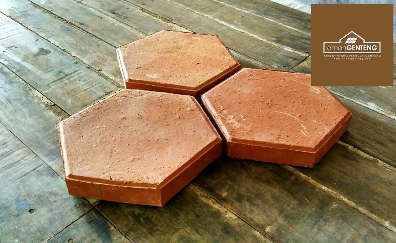 Ubin Terakota Hexagonal - HP/WA: 08122833040 - Omah Genteng Oleh Omah Genteng Country Batu Bata