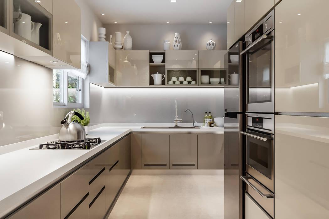 Kitchen Modern kitchen by De Panache Modern