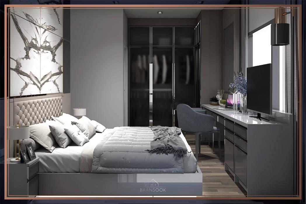 คอนโด The Line ราชเทวี BAANSOOK Design & Living Co., Ltd. ตกแต่งภายใน