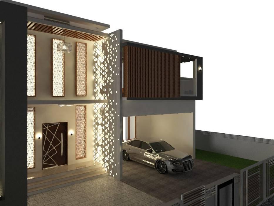 Casas de estilo minimalista de Designer M - by Ar Sameem Minimalista