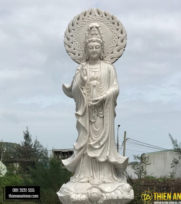 Tượng Hải Phòng Hiên, sân thượng phong cách châu Á bởi CÔNG TY TNHH ĐÁ TƯ NHIÊN THIÊN AN Châu Á Cục đá