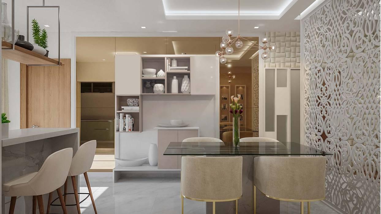 Ruang Makan oleh De Panache , Modern