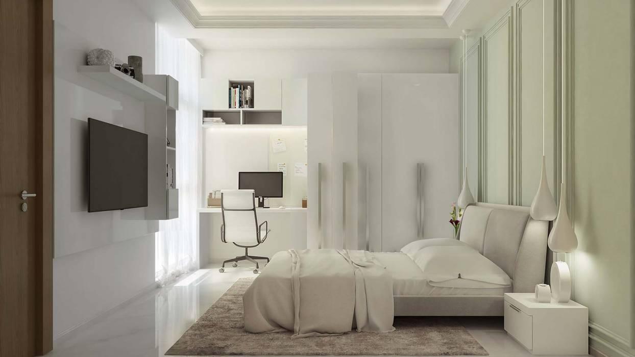Kamar Tidur oleh De Panache , Modern