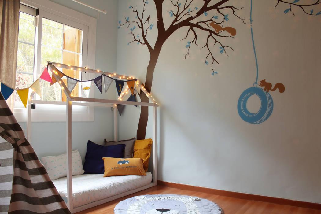 Dormitorios de bebé de estilo  por Jimena Sarli Interior Design, Moderno