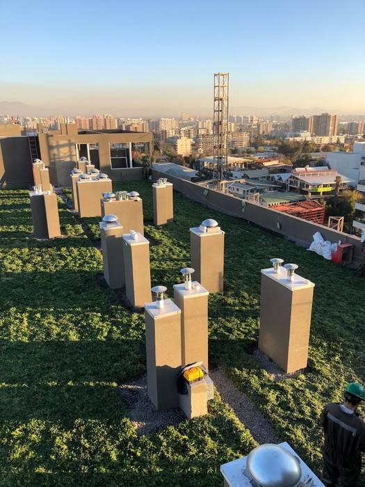 Edificio Mix: Azoteas de estilo  por VerdeActivo, Clásico
