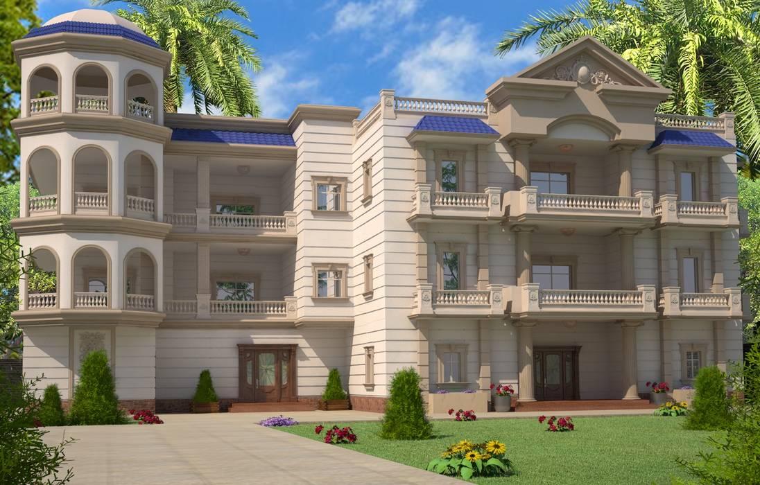 Villa oleh Mohannd design studio, Eklektik
