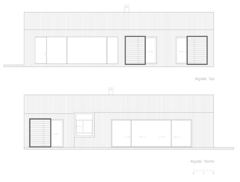 Moradia em Grândola - Projeto que arquitetura :   por Nuno Ladeiro, Arquitetura e Design,Moderno