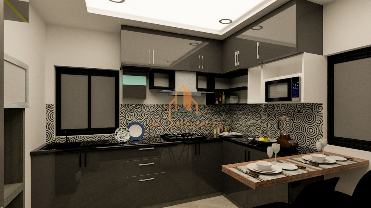 kitchen by Sky architects Classic