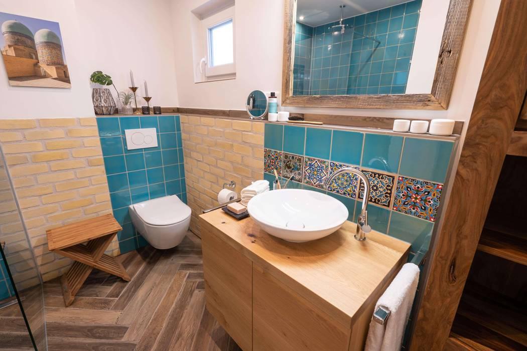 Wohlfühlbad im orientalischen stil asiatische badezimmer von ...