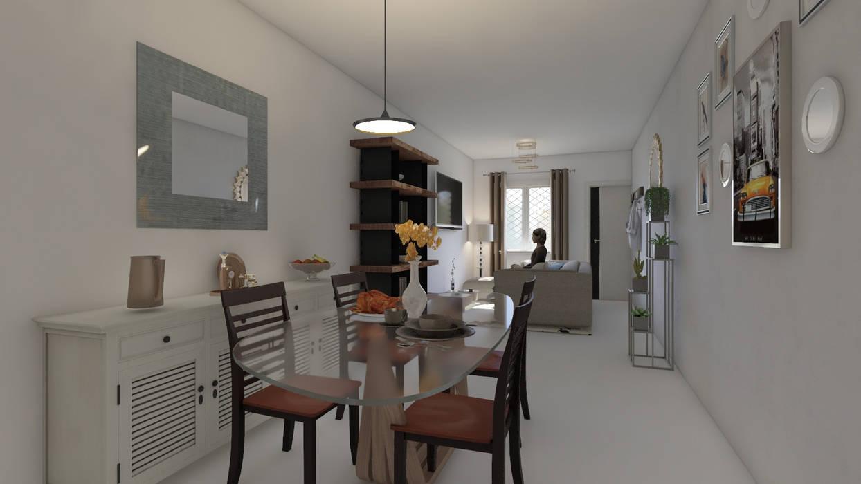 Diseño y decoración de interiores Pereira Comedores de estilo moderno de Arkiline Arquitectura Optativa Moderno