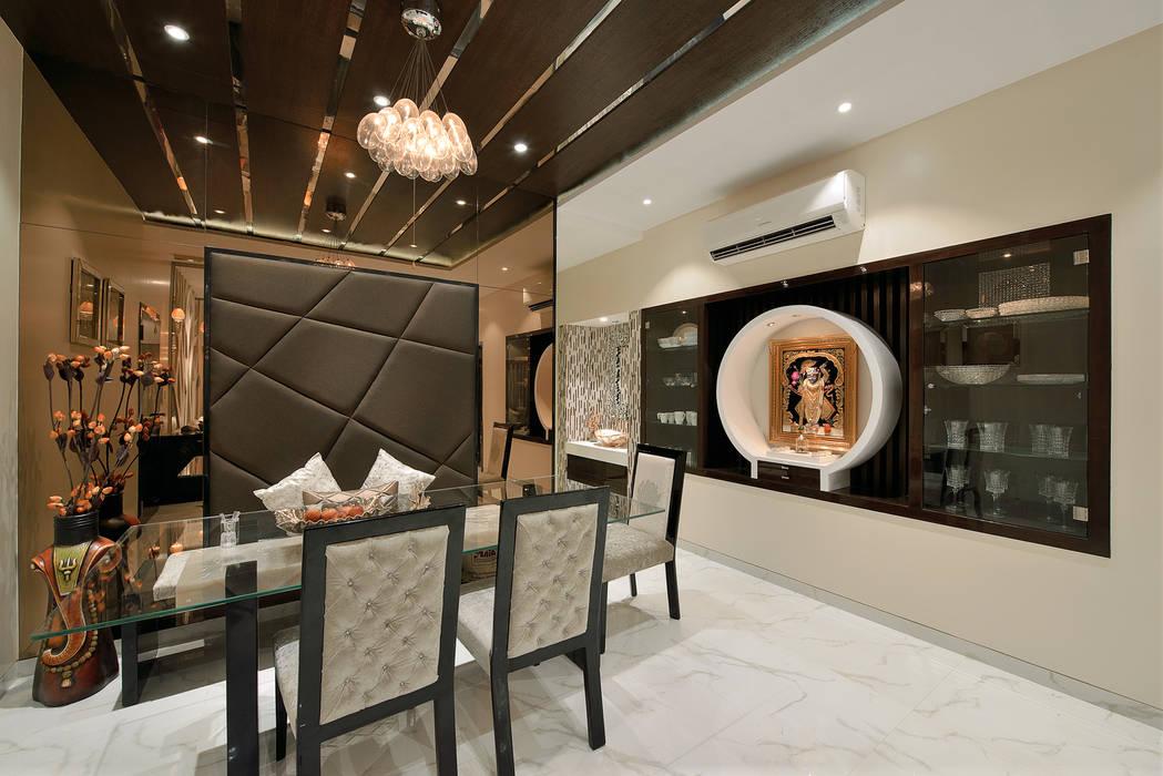 Designer's Fantasy Modern dining room by Ar. Milind Pai Modern