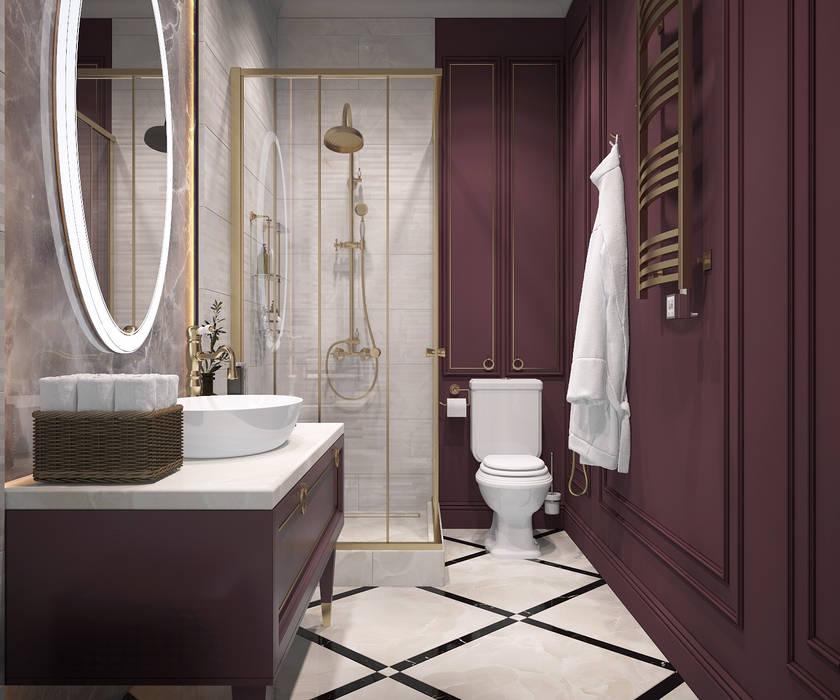 Phòng tắm phong cách thực dân bởi Инна Азорская Thực dân