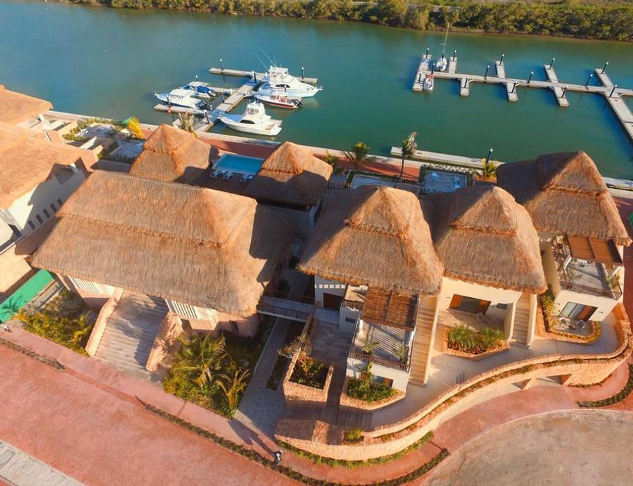 Yachts & Jets de style  par UNIDAD DISEÑO S.C., Tropical