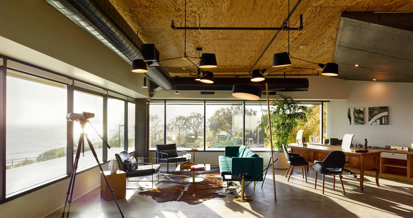 Carpinteria Modern Industrial Workspace Kingdom Office Buildings Homify