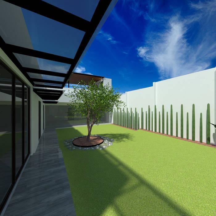 Rock Garden by Ideas Arquitectónicas, Modern Granite