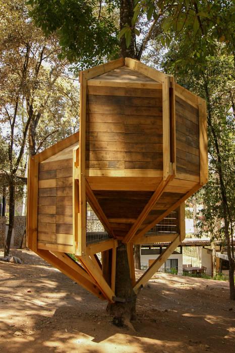 Casas de estilo  por Saavedra Arquitectos, Moderno