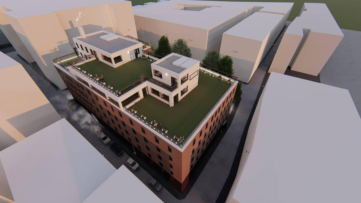 โดย Alfaro Arquitecto 3A3 โมเดิร์น