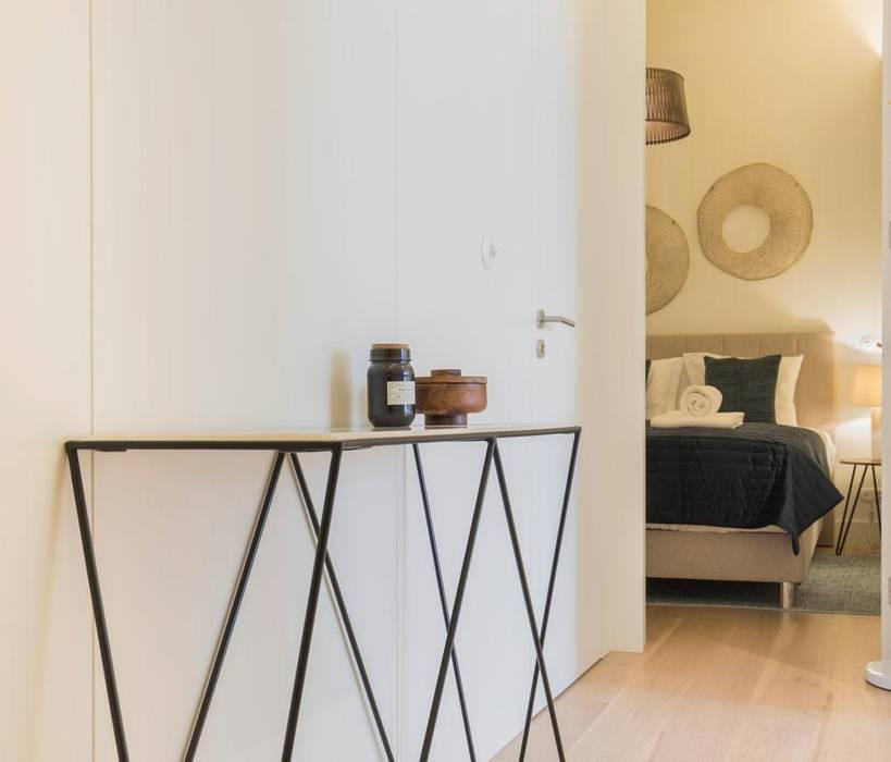 Quarto e ante camera por Inêz Fino Interiors, LDA Minimalista