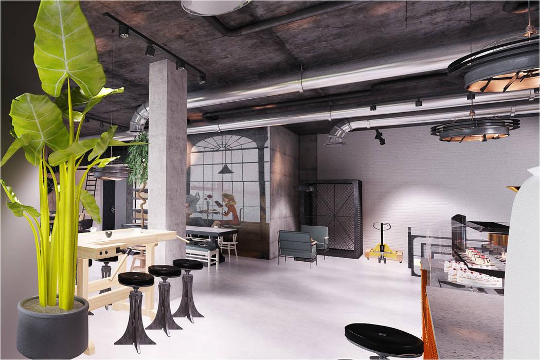 Baristocrat 3rd Wave Coffee Shop / Gaziemir SİVRİLER MOBİLYA Duble garaj